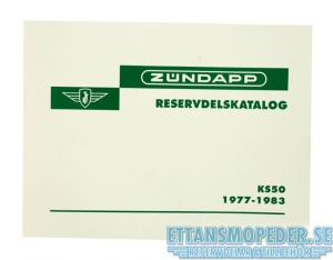 Reservdelskatalog Zundapp 77-83