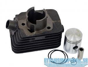 Cylinder Piaggio Ciao 38.2mm 12mm bult 50cc