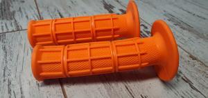 Handtag Enduro Orange 22/24mm 1 par Universal