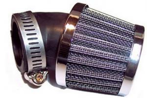 Luftfilter Uni. böjt 45gr 32mm Universal