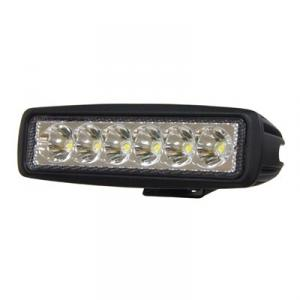 Arbetslampa 18W 6 LED 1080 lumen
