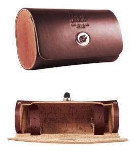 Sadelväska mörkbrun 17x10x6cm Universal