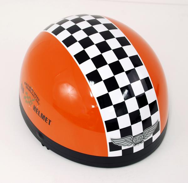 Potthjälm Orange