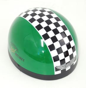 Potthjälm Grön
