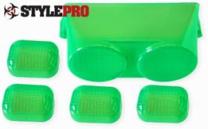 Blinkers & Baklampsglas Grönt PGO Bigmax