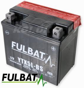 Batteri Fulbat 12V YTX5L-BS 4amp Universal