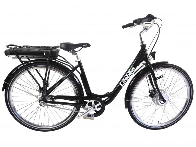 Elcykel Lifebike Classic 3VXL G5 Svart