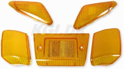 Blinkers & Baklampsglas orange Yamaha Jog