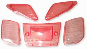 Blinkers & Baklampsglas Rött Yamaha Jog