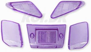 Blinkers & Baklampsglas lila Yamaha Jog