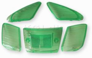 Blinkers & Baklampsglas gröna Yamaha Jog