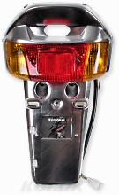 Bakskärm krom Yamaha Jog