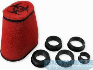 Luftfilter Rött 28-55mm Universal