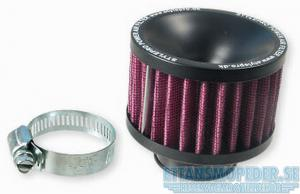 Luftfilter svart/lila 45mm Universal