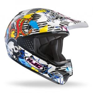 Crosshjälm HJC CS-MX Clown MC3 XXL