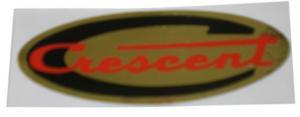 Dekal Crescent ovalformad 73x26mm