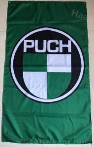 Flagga Puch grön 60x90cm