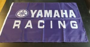 Flagga Yamaha Racing 60x90cm