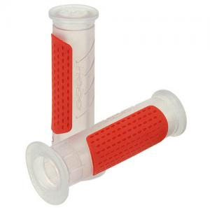 Gummihandtag Röd/Transparent 1 par Universal