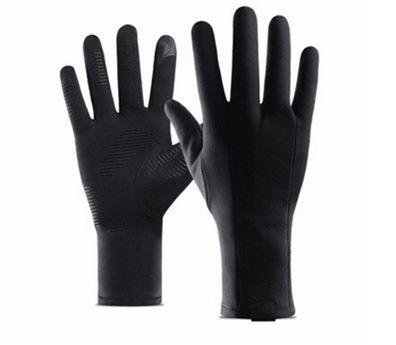 Vattentåliga Touch-handskar Svarta 1 par anti-slip