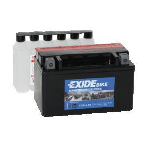 Batteri 12V YTX7A-BS Exide