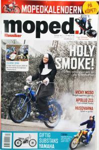 Tidning klassiker moped nr.4 2014
