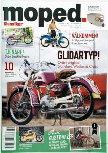 Tidning klassiker Moped nr.2 2016