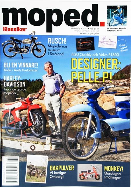 Tidning klassiker moped nr.3 2017