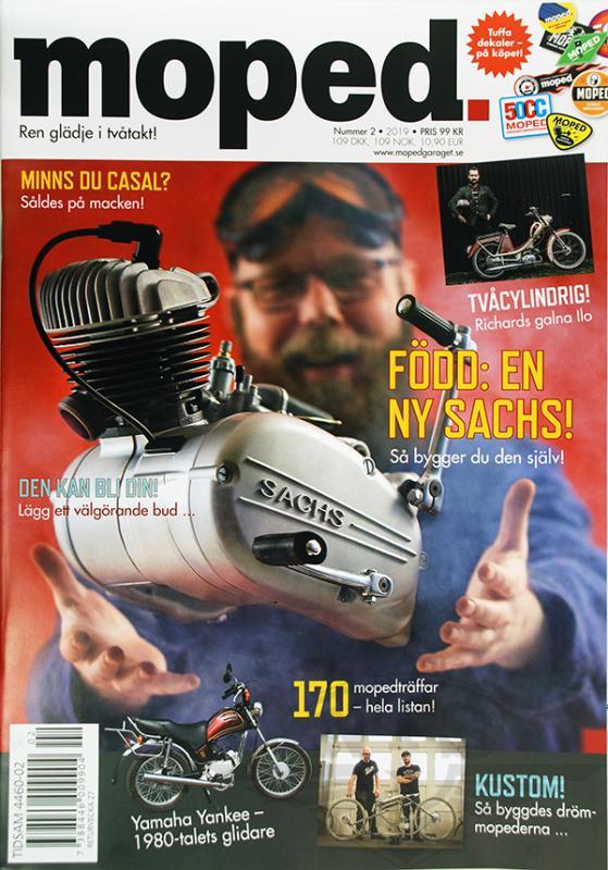 Tidning Klassiker Moped nr.2 2019