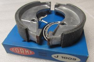 Bromsbackar Zundapp 118mm J1009 1 par NOS