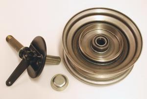 Framhjul/Styrspindel Höger Flakmoped