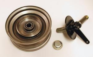 Framhjul/Styrspindel Vänster Flakmoped
