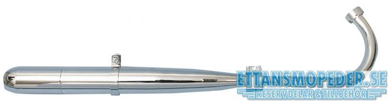 Avgassystem 28mm reducering Sachs