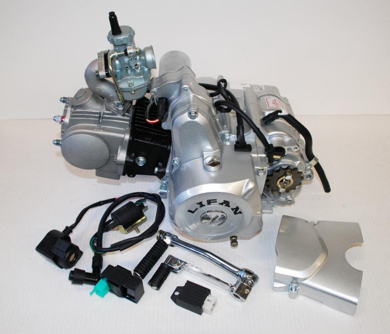 Lifanmotor 4väx halvauto 49cc komplett