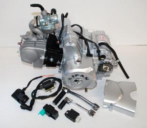 Lifanmotor 4väx manuell 107cc komplett