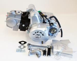 Lifanmotor 4väx manuell 107cc (utan eldelar)