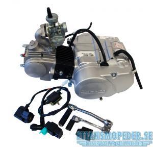 Lifanmotor 4väx kickstart manuell 49cc Komplett