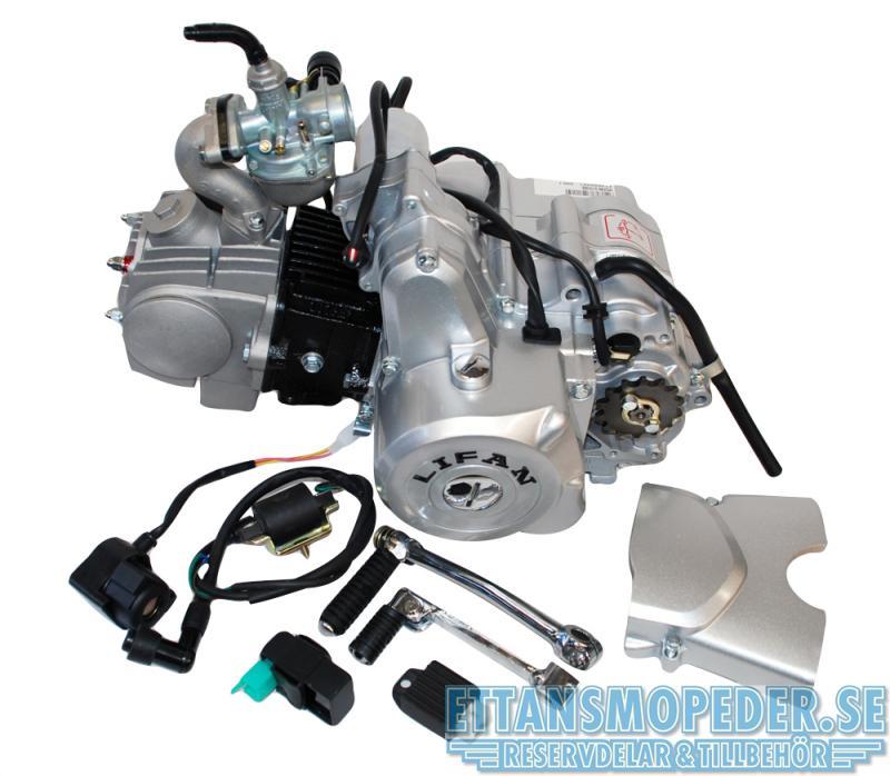 Lifanmotor 4väx halvauto elstart 107cc komplett