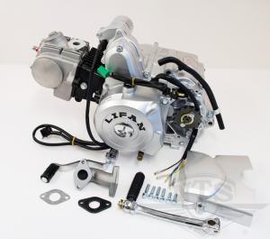 Lifanmotor 4väx halvauto elstart 107cc (utan eldelar)