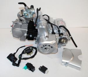 Lifanmotor automat elstart 107cc komplett