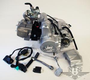 Lifanmotor 3väx m. back 107cc komplett