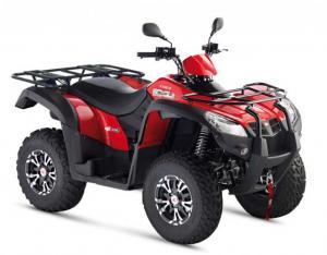 Kymco MXU 500i IRS Röd