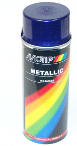 Sprayfärg Lila metallic 400ml Motip