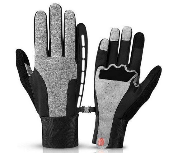Vattentåliga Touch-handskar grå/svart reflex 1 par