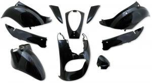 Kåpset svart metallic Sym Mio 50 4T