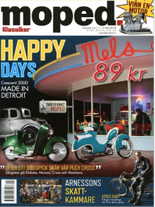 Tidning klassiker moped nr.2 2015