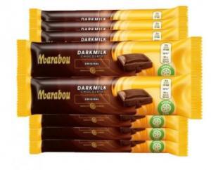 3 st Mjölkchoklad mörk Marabou 35 gram