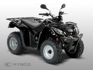 Kymco MXU 50R ATV moped svart