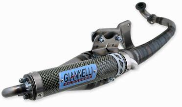 Avgassystem Peugeot Ludix Snake Gianelli Reverse