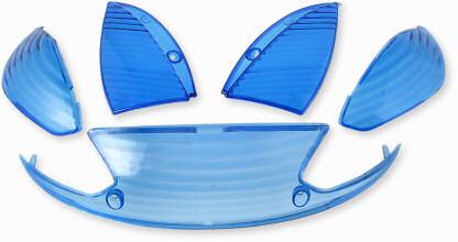 Blinkers & baklampsglas blå Peugeot Vivacity